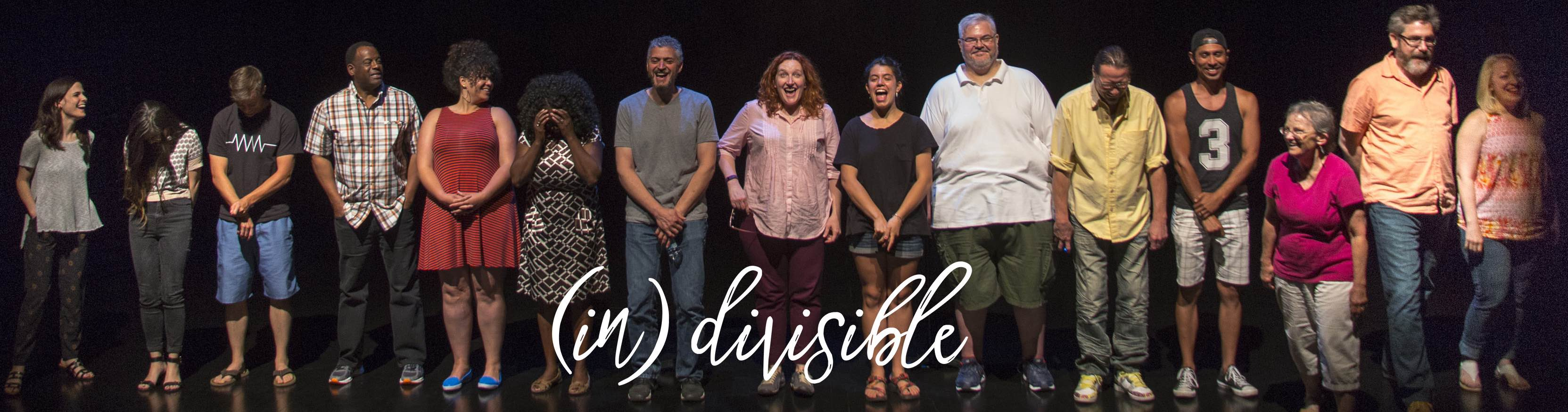 Cast of Plan-B Theatre's (in)divisible.