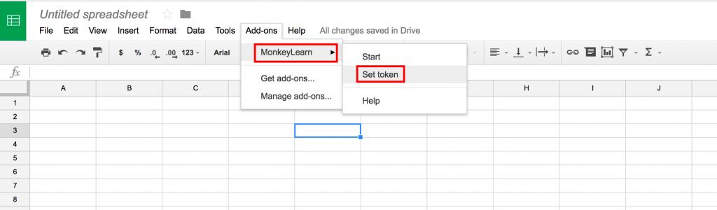 google sheets add-on machine learning