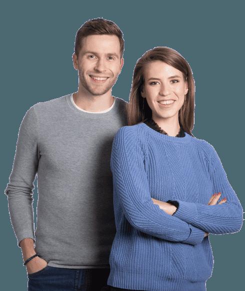 Clément et Aurélie, clients Dougs expert-comptable et gestion des notes de frais