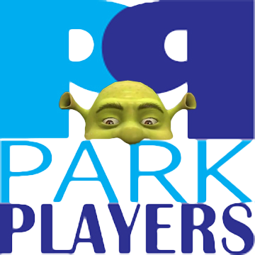 Park Players Shrek logo