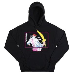 Yu Yu Hakusho Anime Mens Black Graphic Hoodie