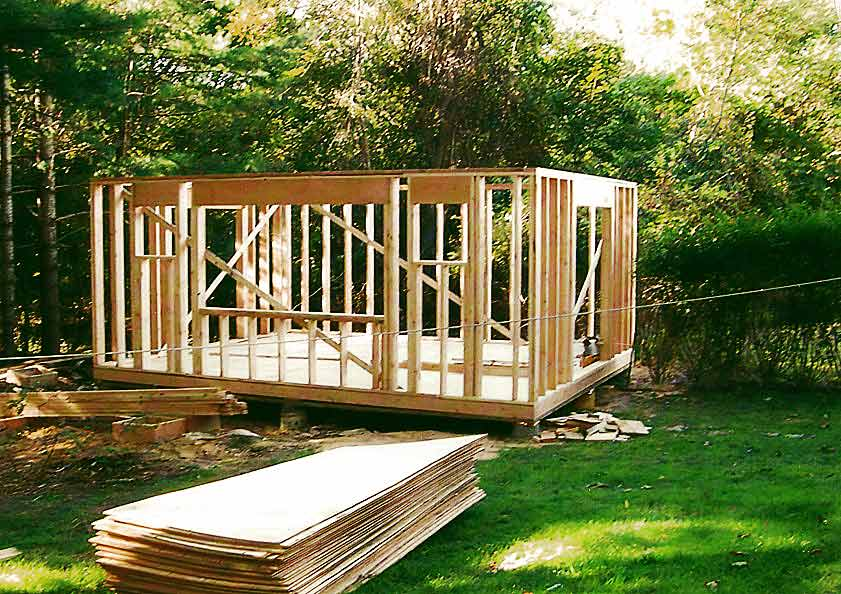 Shed Blakewood Construction 01
