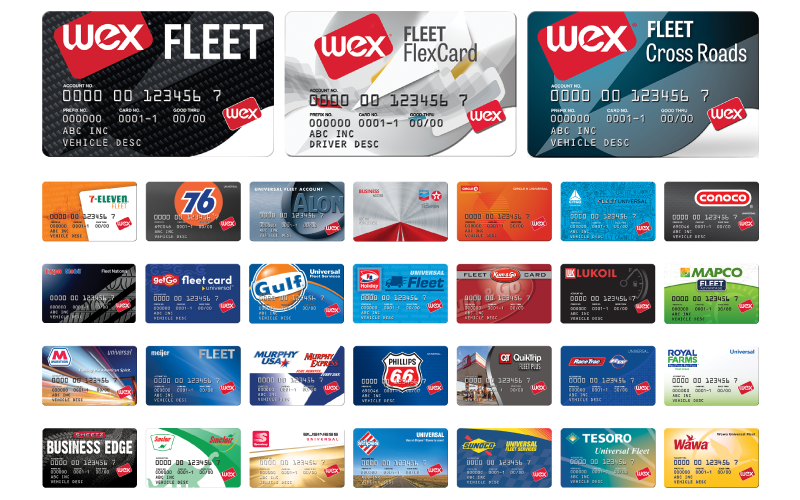Wex cards all