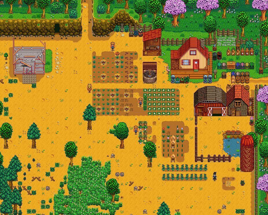 My barren farm.