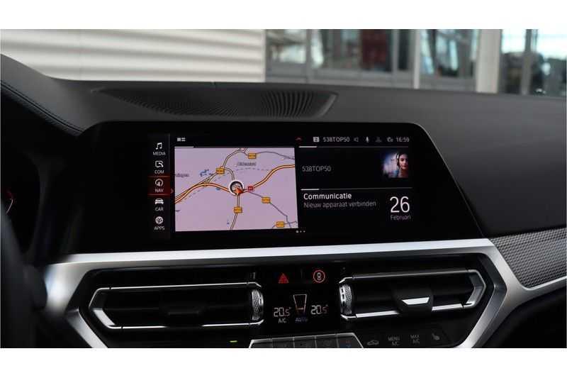 BMW 3 Serie 330i High Executive M-Sport Leder, Schuifdak, Harman/Kardon afbeelding 20