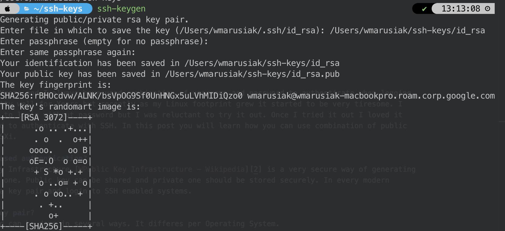 Keys in macOS