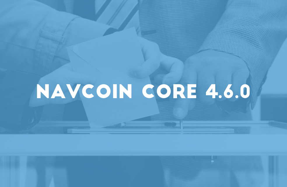 NavCoin Core 4.6.0