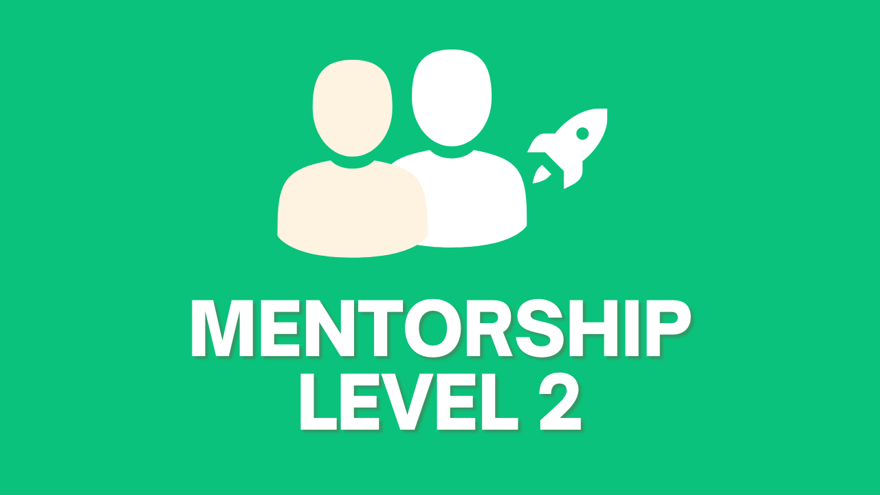 Mentorship level 2 option