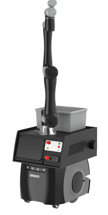 6-axis arm on a mobile robot