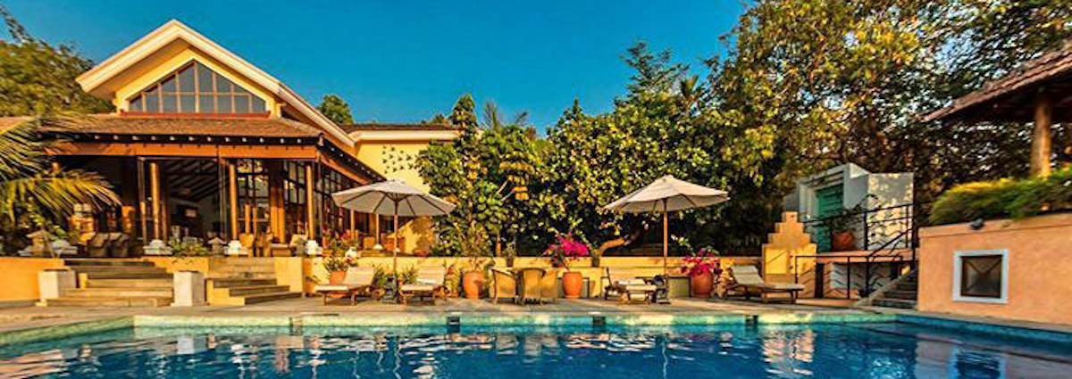 Award winning luxury villa in Goa