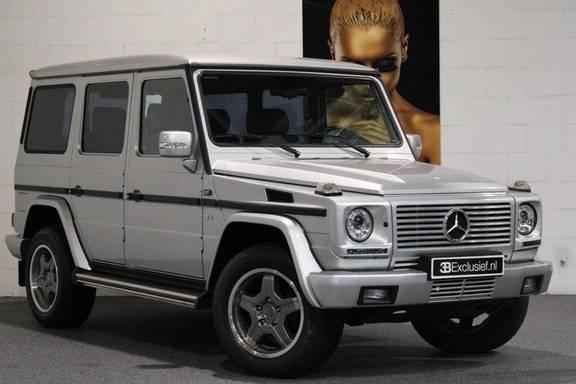 Mercedes-Benz G-Klasse 500 fabrieks 55-uitgev. Youngtimer aut. 7-zits