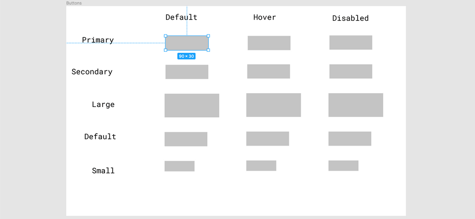 Welcome, Developer - Figma Button Layout