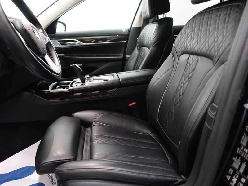 BMW 7 Serie 740D xDrive 320pk Individual M-Sport Aut8 Leer, 360 Camera, Full, 54 dkm afbeelding 5