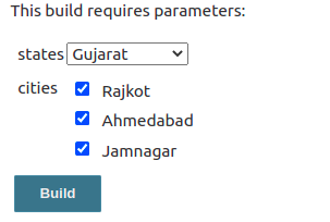 Jenkins build with parameter - check-boxes