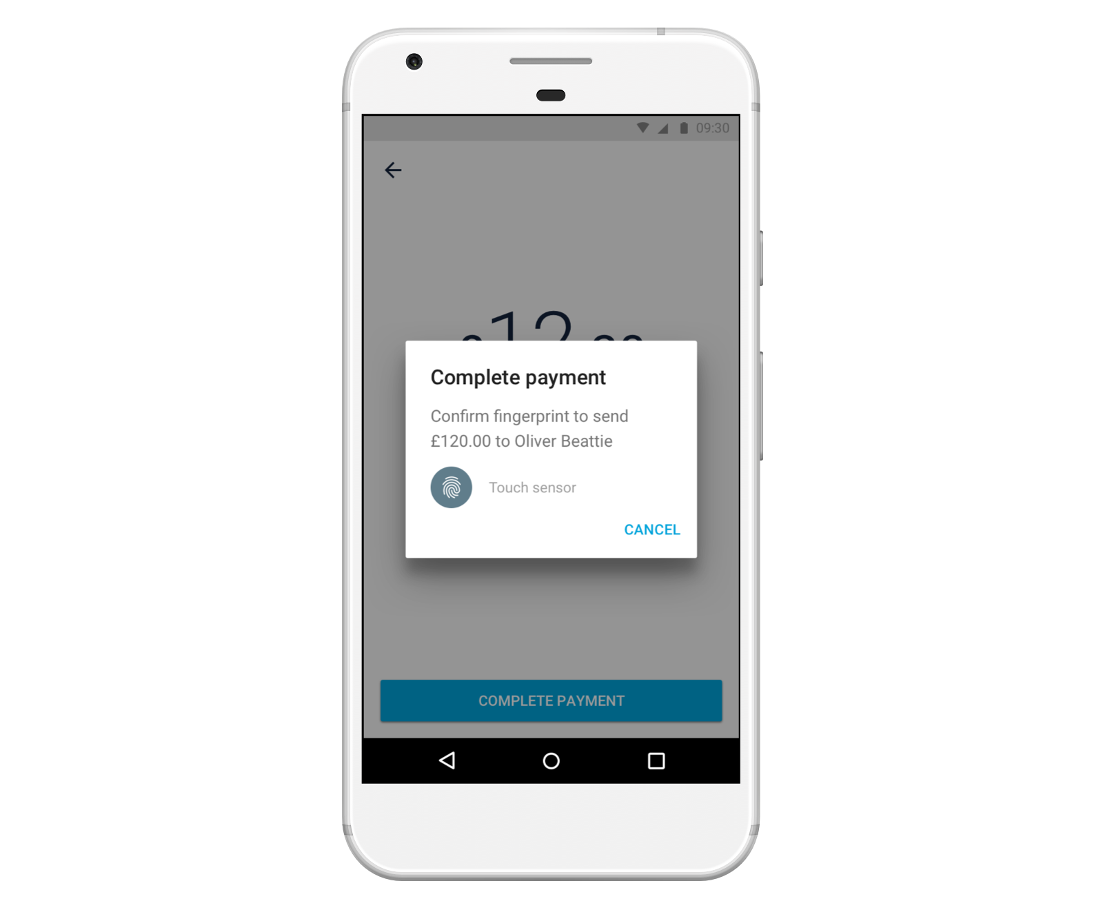 Pay with Fingerprint on Android