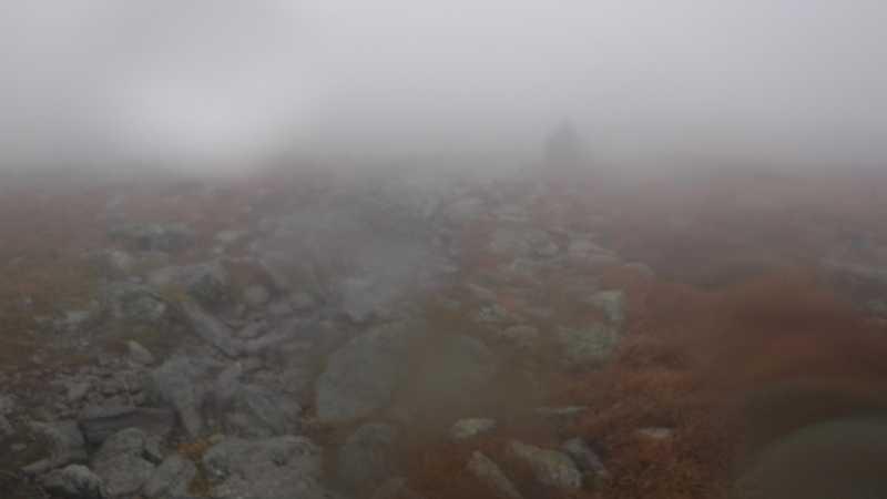 Fog on Mt. Washington