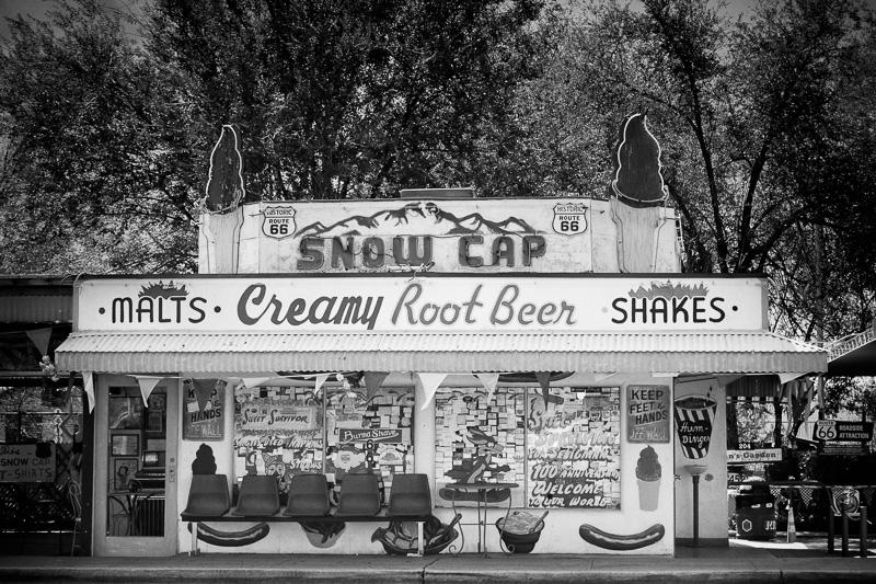 Snow Cap Root Beer Stand