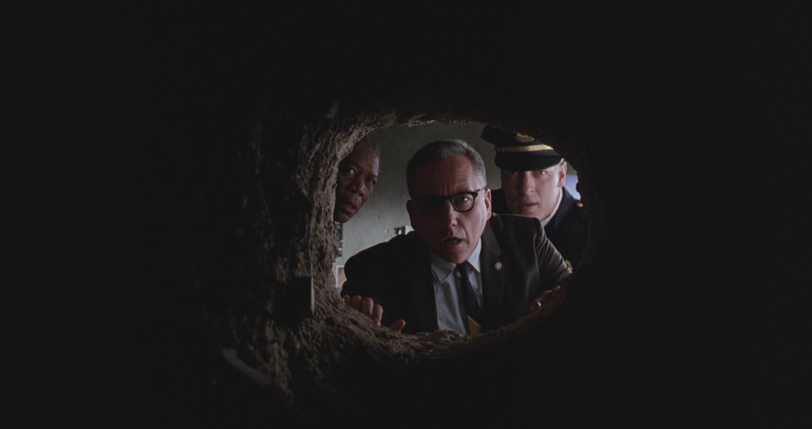 Descoperirea tunelului evadatului