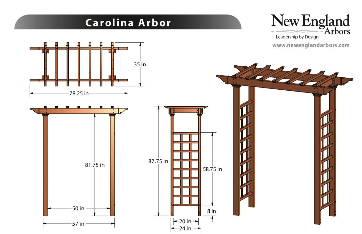 Carolina Arbor Specs
