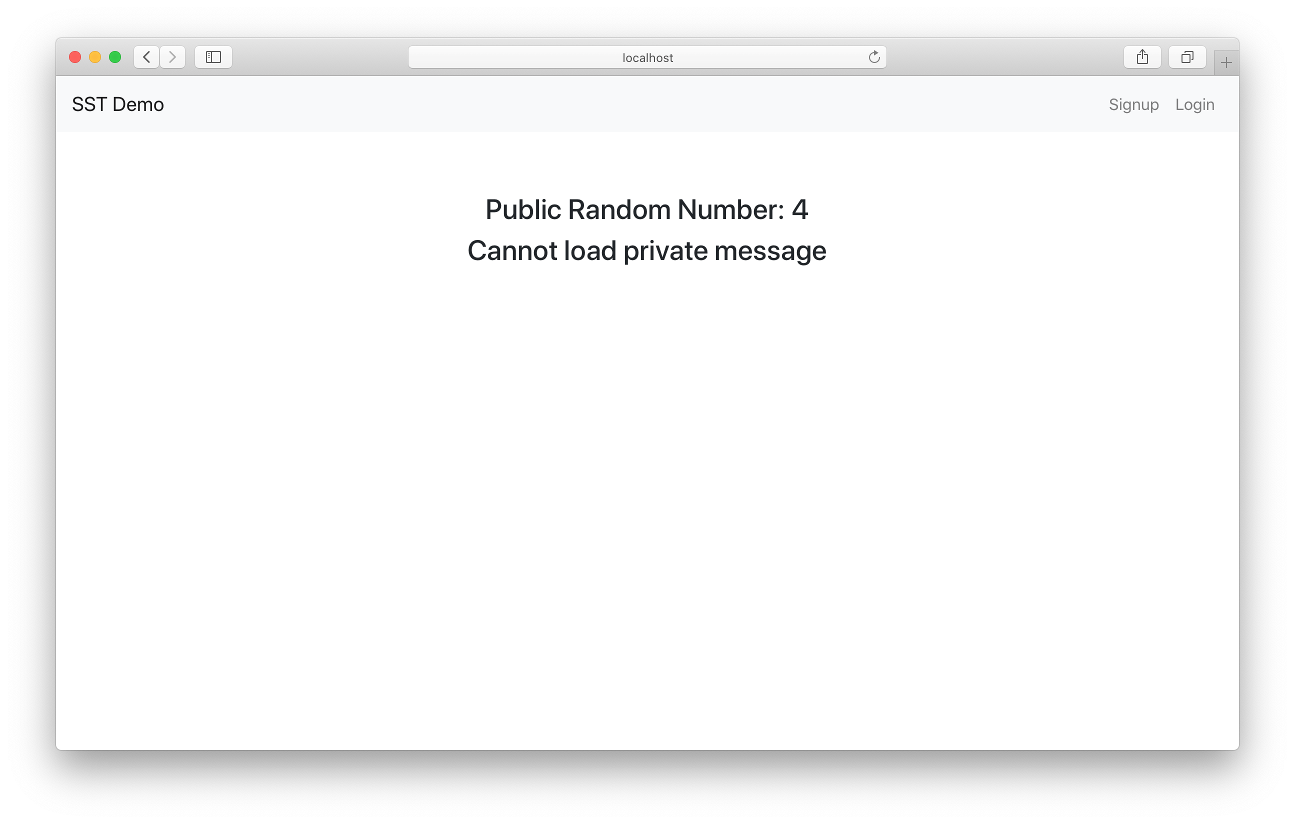 Load public and private APIs in React.js app