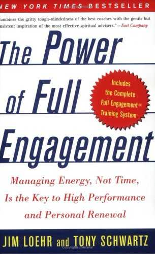 The Power of Full Engagement Cover