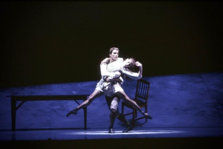 "Robert Thomson's lighting design for the National Ballet of Canada's production of ""Spring Awakening""."
