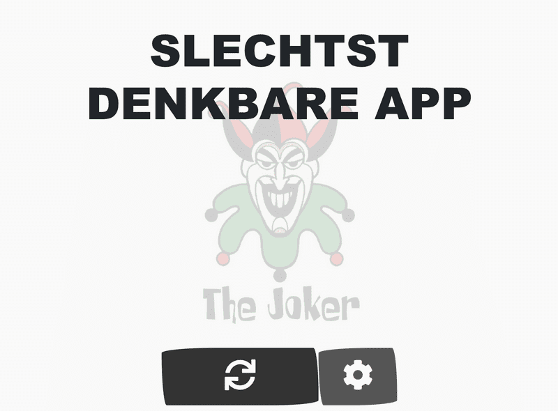 Front page of slechtstdenkbare.be