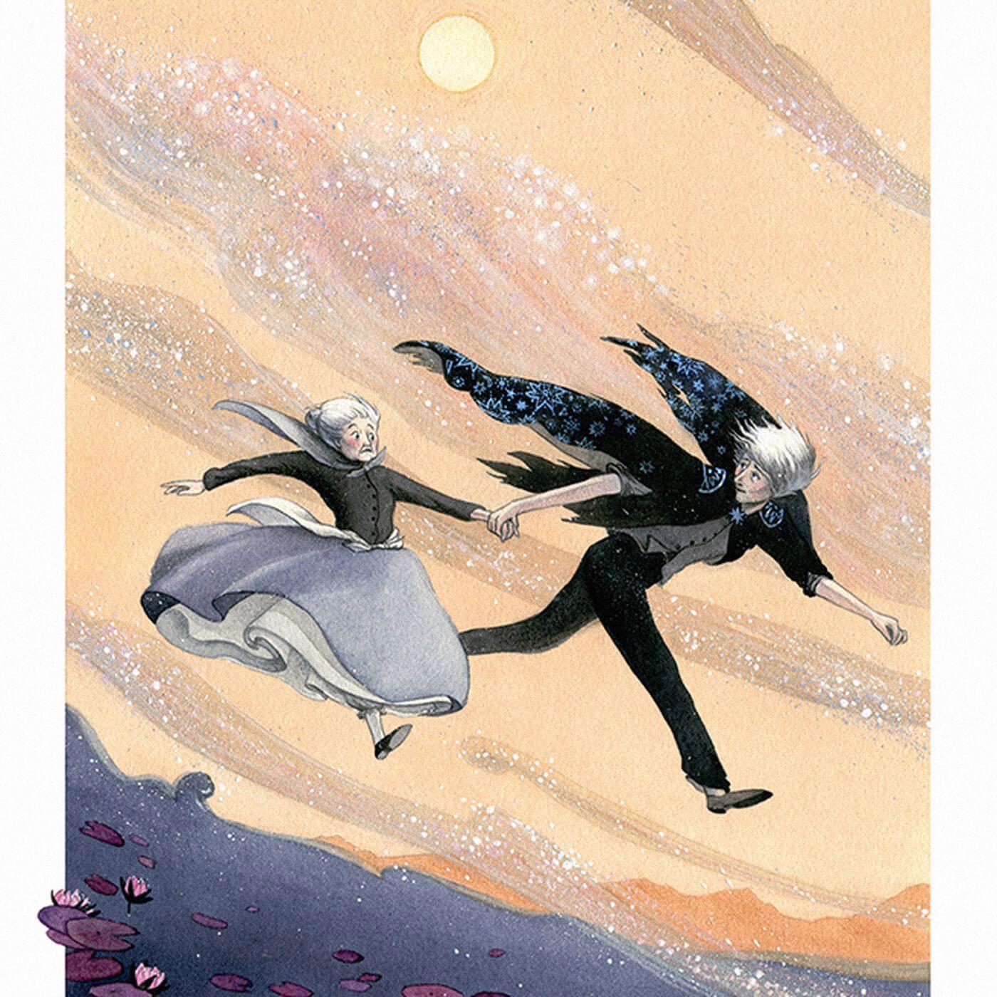 Иллюстрация к роману «Ходячий замок». Источник: vox.com