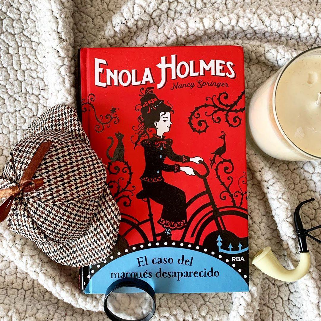 """Imagen de Reseña de """"Enola Holmes, el caso del marqués desaparecido"""", de Nancy Springer"""