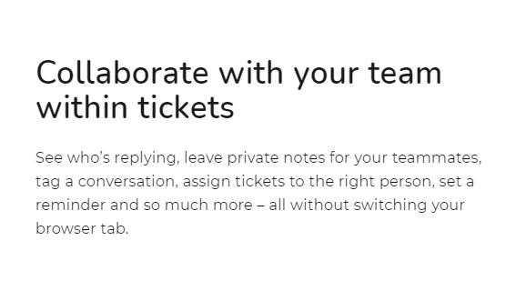 SaaS Landing Page Tips with Josh Garofalo: Screenshot of Delightchat's solutions