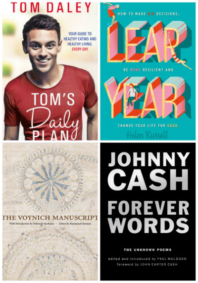 Tom's Daily Plan, Leap Year, The Voynich Manuscript, Forever Words