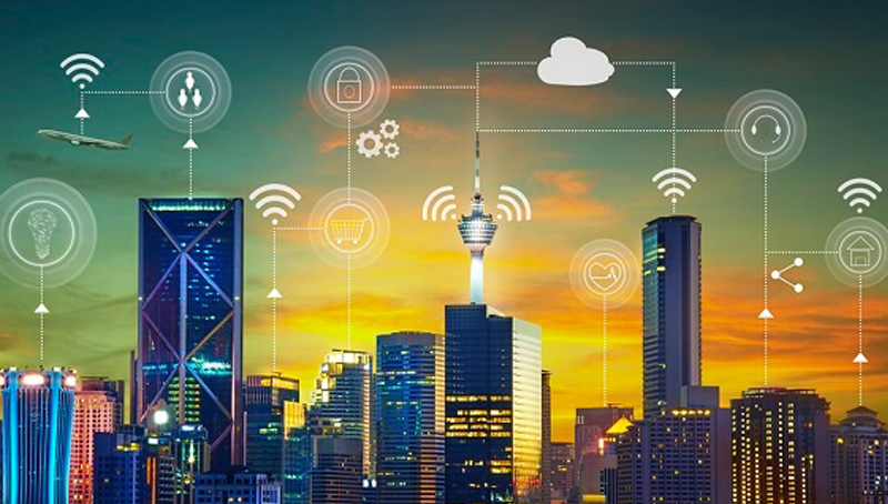 Imagem em destaque para o artigo: Smart City: você sabe o que é uma cidade inteligente?