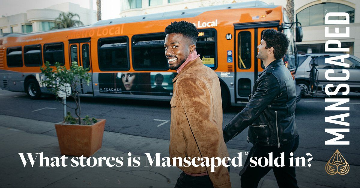 What stores is Manscaped™ sold in?