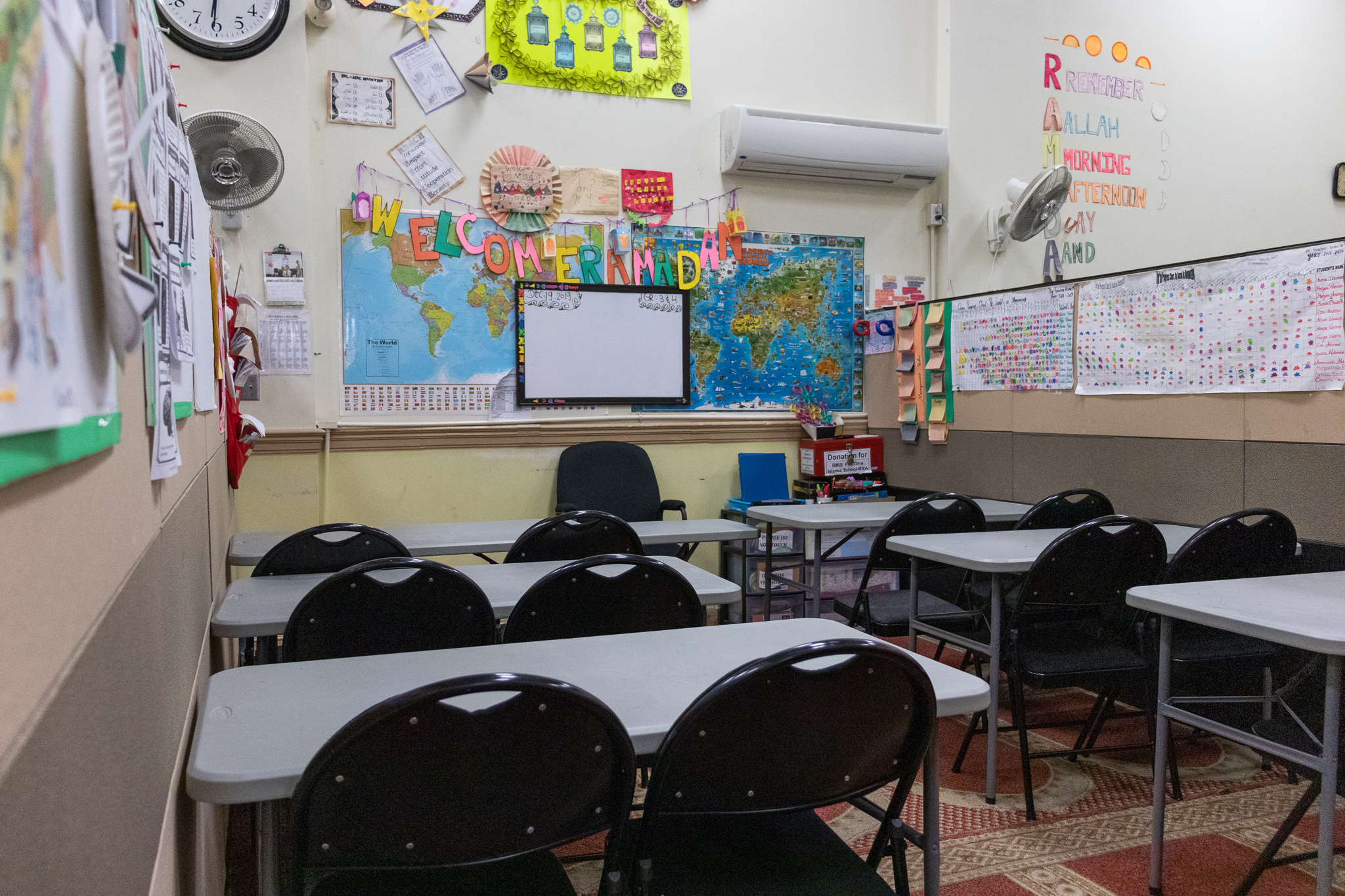 Inside the BMA Classroom