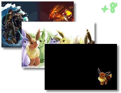 Eevee theme pack