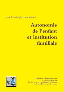 Autonomie de l'enfant et institution familiale