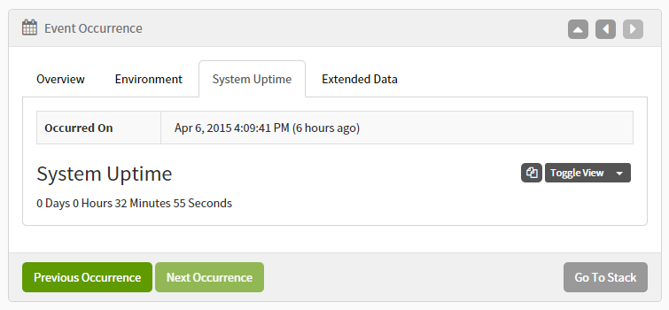 Exceptionless Plugin System Uptime
