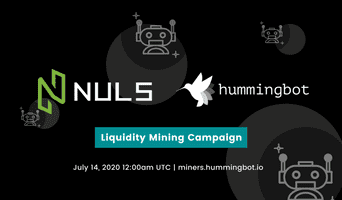 New liquidity mining campaign for NULS going live on July 14, 2020!