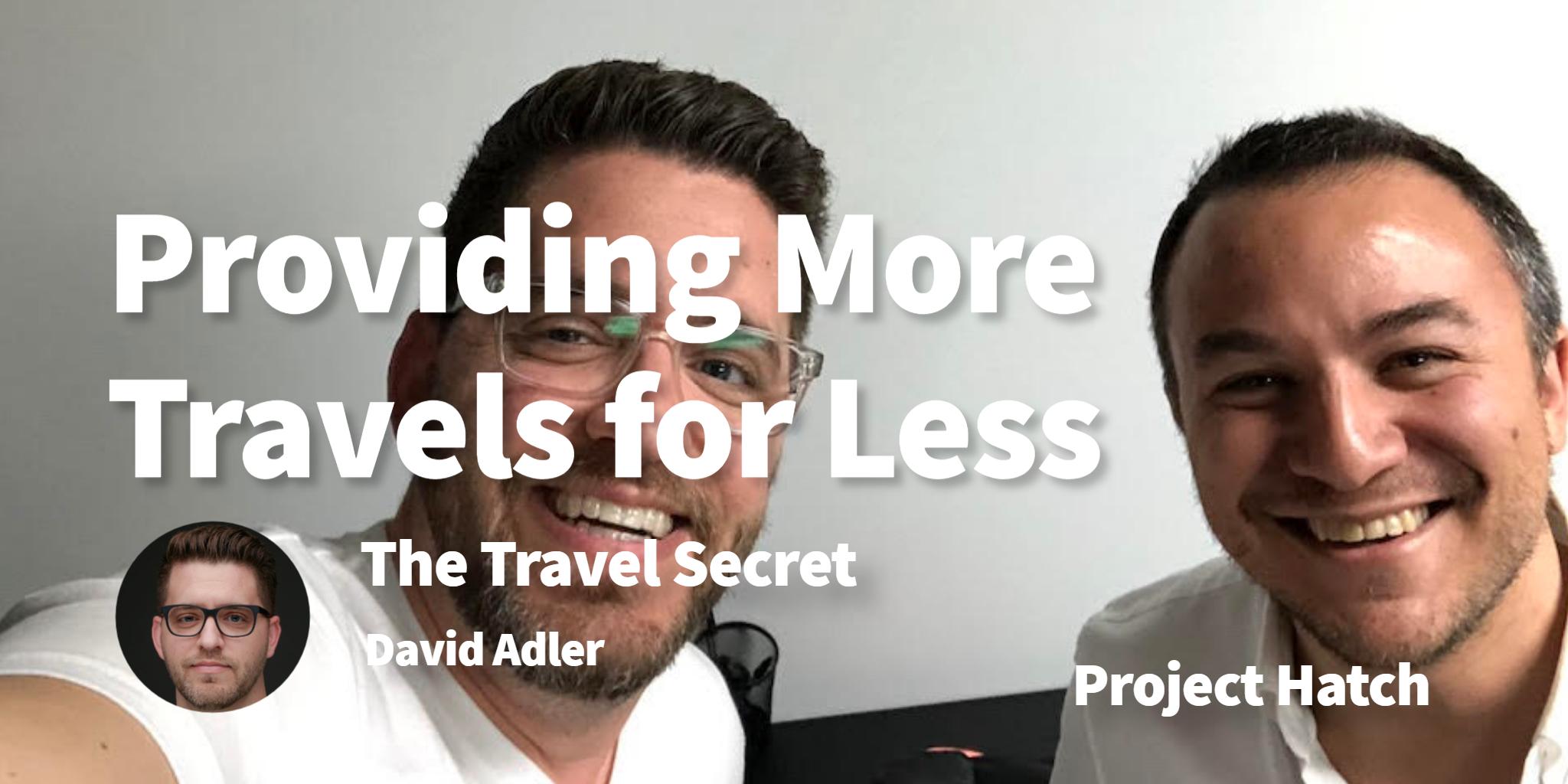 The Travel Secret David Adler