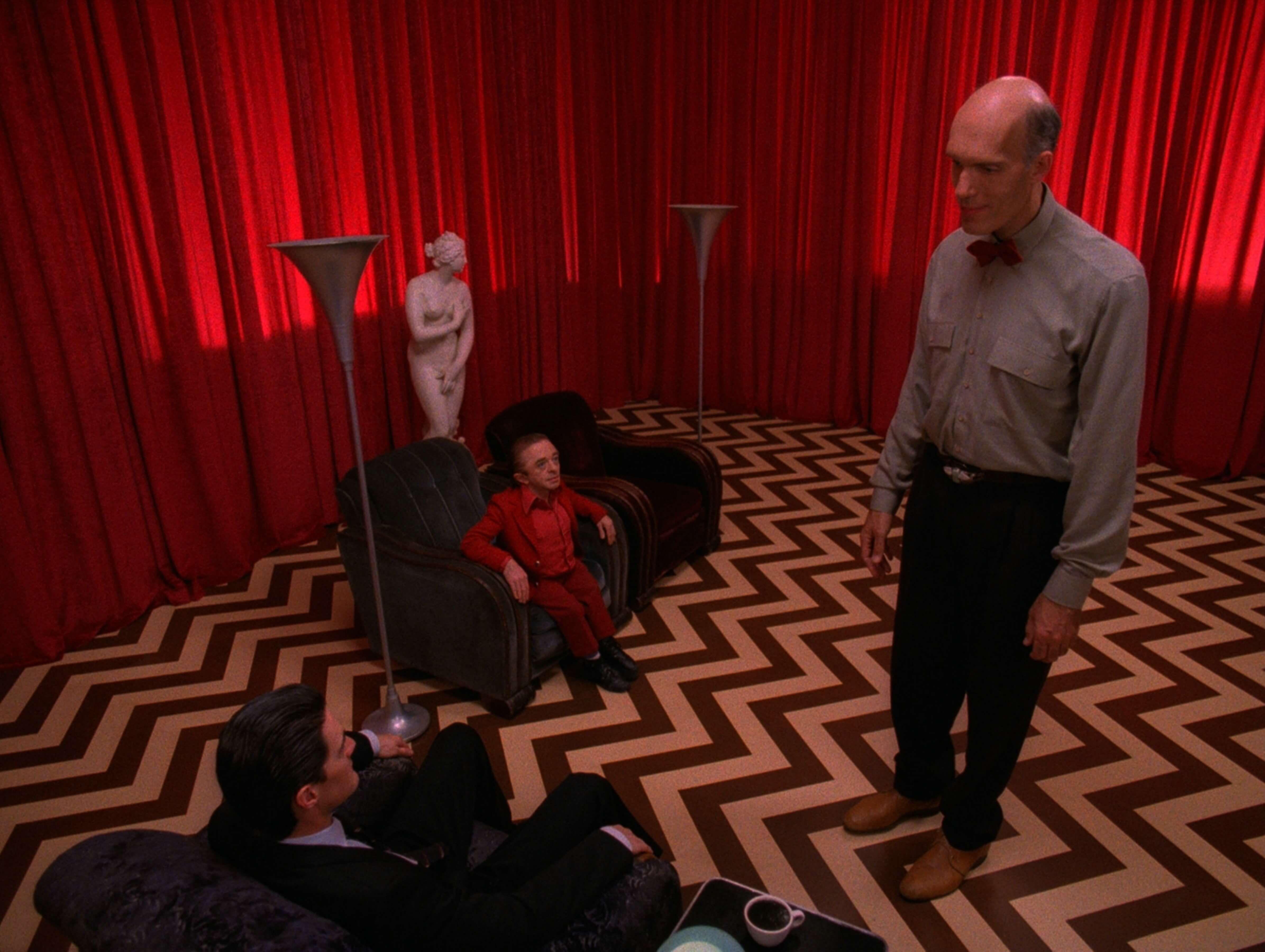 Знаменитая «красная комната» всериале «Твин Пикс». Источник: imdb.com