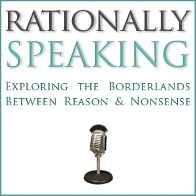 podcast cover of Rationally Speaking by Julia Galef
