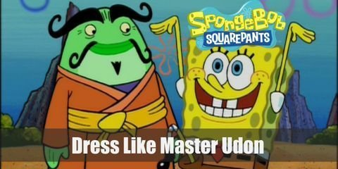 This masterful conman may have lots of creative tricks up his sleeves, but he's still no match for Spongebob and the gang. Here's everything you need to look like Master Udon