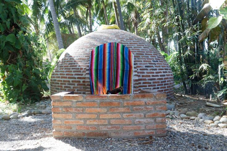 Temazcal is ready