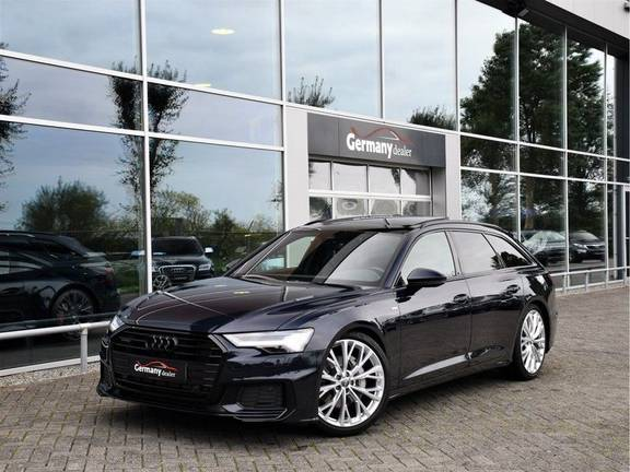 Audi A6 Avant 50TDI Quattro 286pk S-Line Black Optic Lucht Pano RS-Zetels 21-Inch DAB 4-Wiel-Best.
