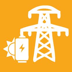Hybrid solar icon