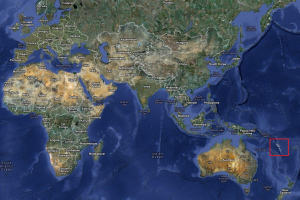 Vanuatu pe hartă