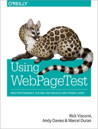 Using WebPageTest Book Cover