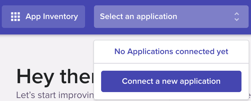 Connect a new app