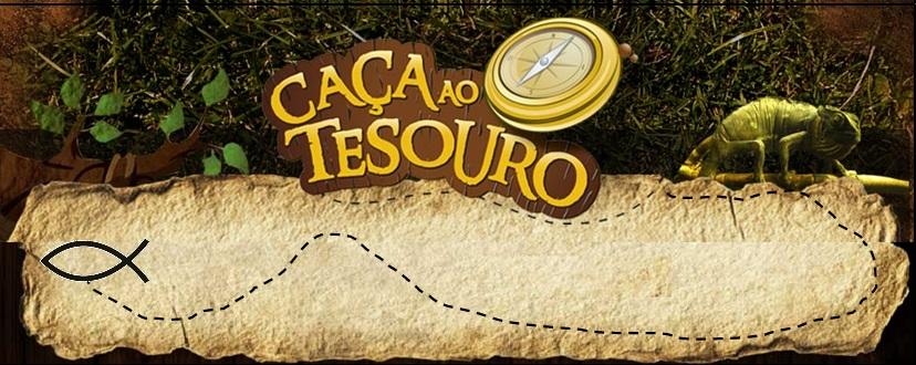 Caça ao Tesouro - Imagem de um mapa e uma bússola
