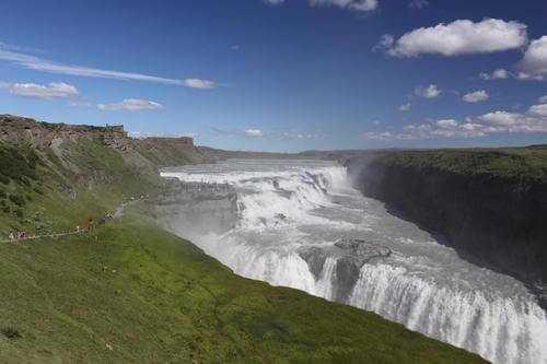 La cascata di Gullfoss